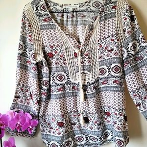 Anthropologie!! Boho blouse 🌿🌺